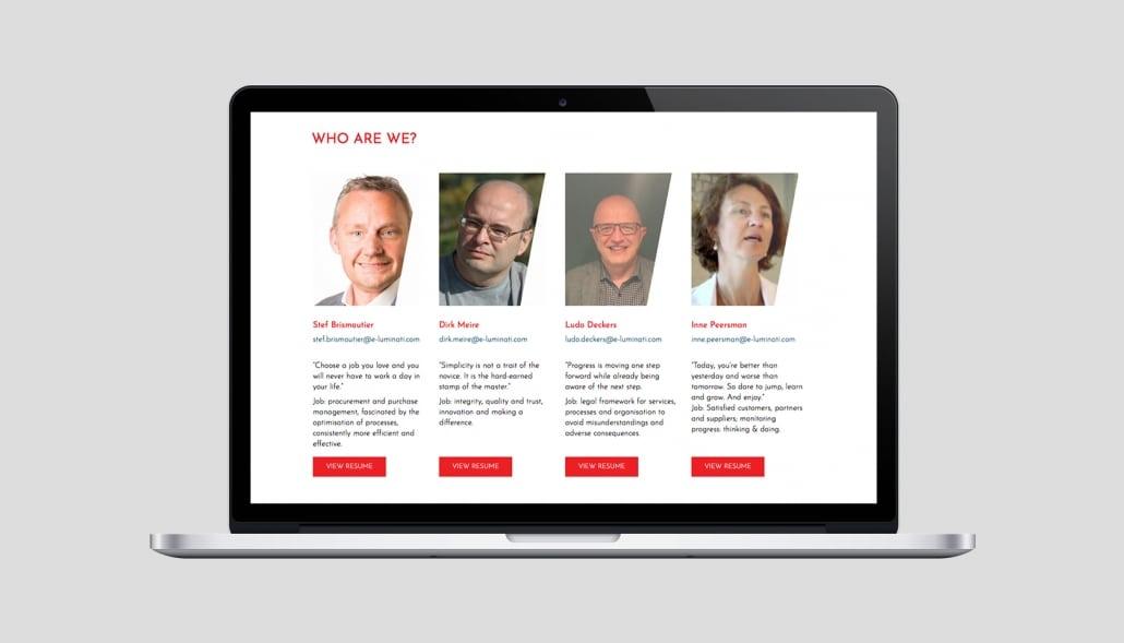 E-luminati webdesign