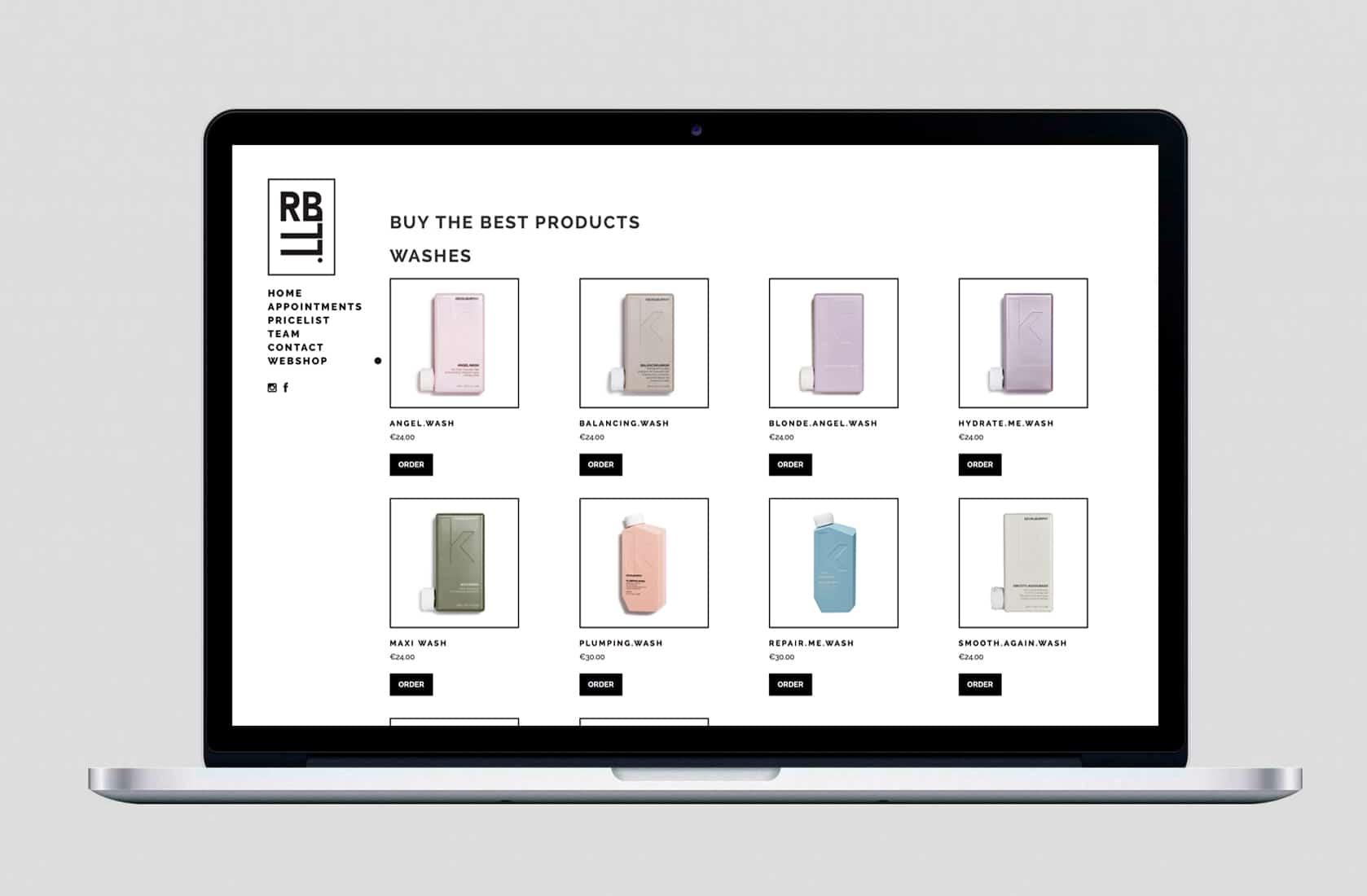 RBLL webshop